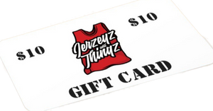 Jerzeyz and Thingz Gift Cardz