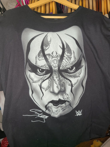 Mens WWE Sting Tshirt Size 2XL-Black