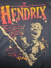 Load image into Gallery viewer, Mens Zion Rootswear 2006 Jimi Hendrix Tshirt Size XL-Black