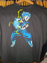 Load image into Gallery viewer, Mens Dragon Ball Super Vegito Blue Tshirt Size XL-Black