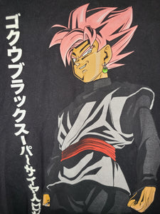Mens Dragon Ball Super Goku Black Tshirt Size XL-Black