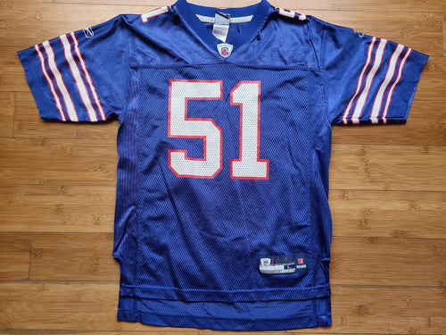 Youth Reebok Buffalo Bills Paul Posluszny Jersey Size Large-Blue
