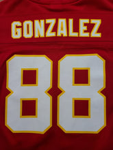 Load image into Gallery viewer, Vintage Youth Reebok Kansas City Chiefs Tony Gonzalez Jersey Size Medium-Red
