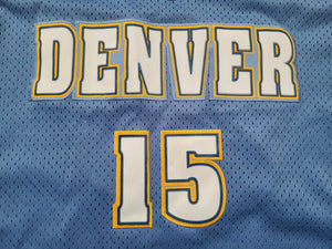 Mens Nike Denver Nuggets Carmelo Anthony Swingman Jersey Size XXL-Light Blue