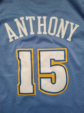 Load image into Gallery viewer, Mens Nike Denver Nuggets Carmelo Anthony Swingman Jersey Size XXL-Light Blue