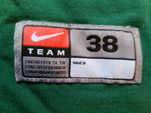 Load image into Gallery viewer, Mens Nike Michigan State Spartans Pro Cut Baseball Jersey Size 38-Green