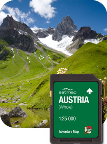 Austria Whole Adventure Map 1:25k