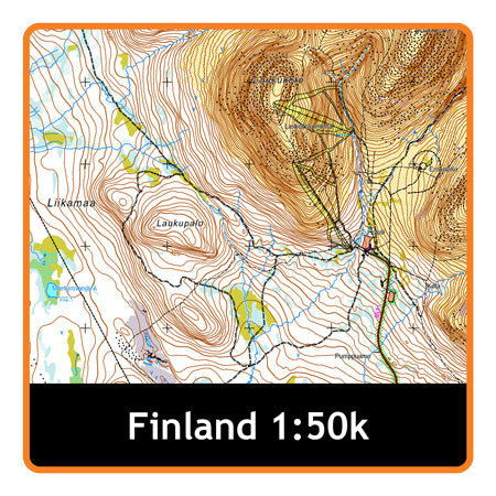 Finland Whole 1:50k