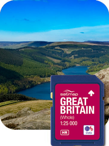 Satmap MapCard: Great Britain Whole (OS 25k)