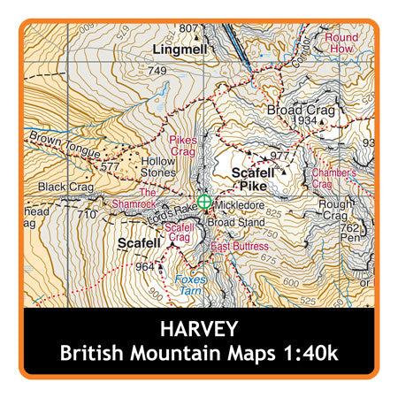 HARVEY Dartmoor 1:40k