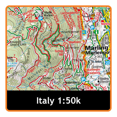 South Tyrol / Lake Garda 1:50k
