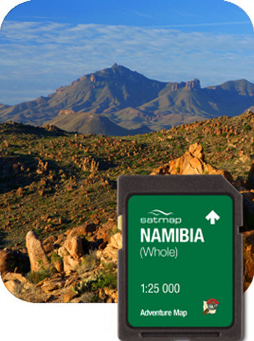 Namibia Adventure Map 1:25k