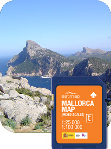 Mallorca (Mixed Scale)