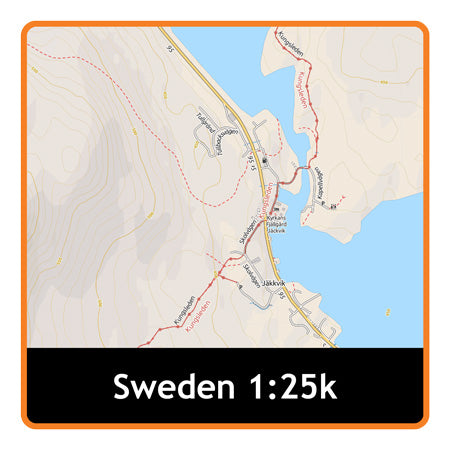 Sweden Adventure Map 1:25k