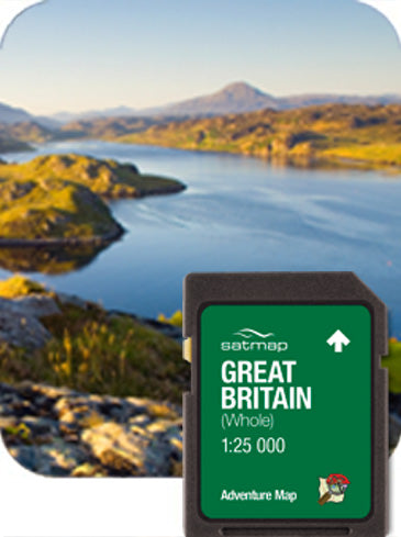 Satmap MapCard: Great Britain Full (ADV 25k)
