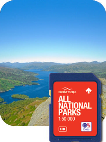 National Parks - Complete Collection 1:50k
