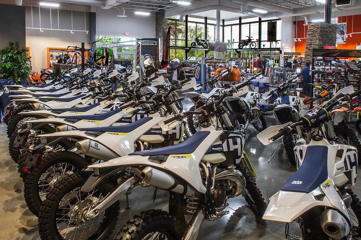 WMR Husqvarna Dirt Bikes and Motorcycles