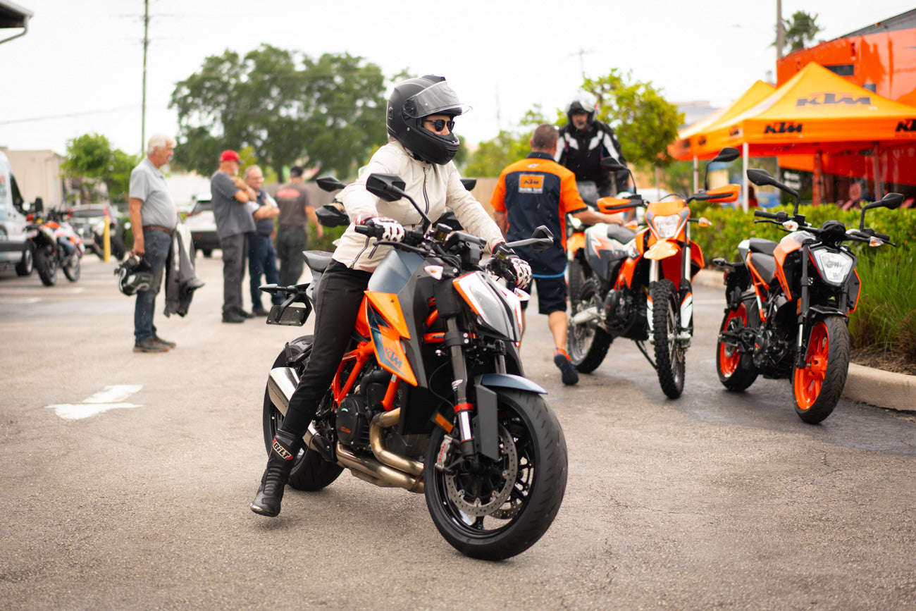 Riding the KTM 1290 Super Duke at Demo Day West Palm