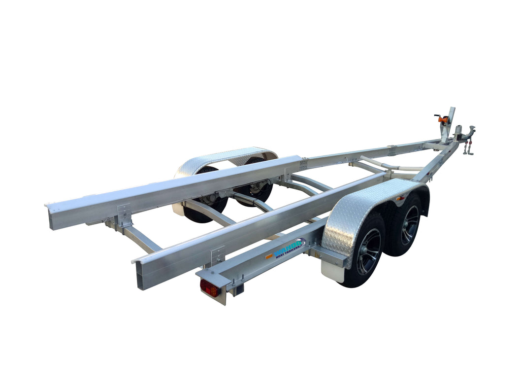 Y-Support - Wahoo Boat Trailers Yacht Patented Flat-Pack Aluminium Boat Trailers Kit WahooTrailers Australia Queensland Brisbane Adelaide
