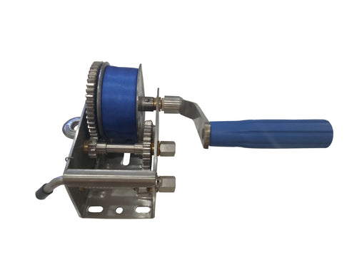 Stainless Winch - Wahoo Trailers