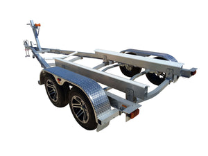 W2000DA - SD - Wahoo Boat Trailers Yacht Patented Flat-Pack Aluminium Boat Trailers Kit WahooTrailers Australia Queensland Brisbane Adelaide