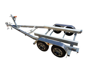 W2000DA - SD - Wahoo Boat Trailers Yacht Patented Flat-Pack Boat Trailers Kit WahooTrailers