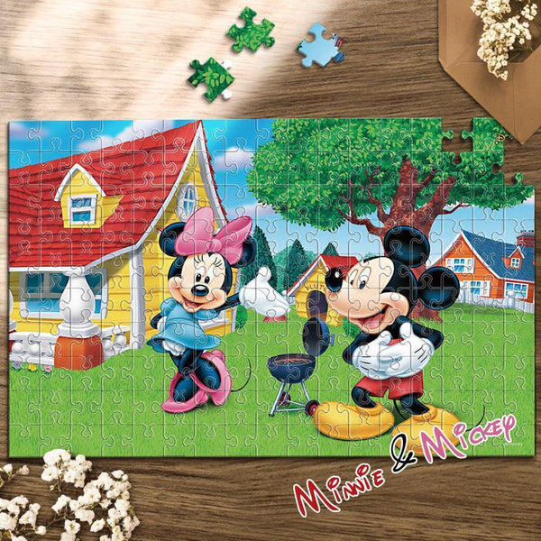 Disney Jigsaw Puzzle 35-1000 pièces - Minnie & Mickey