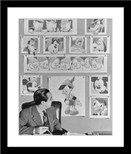 "Load image into Gallery viewer, ""Walt & Animated Characters"" from Disney Photo Archives"