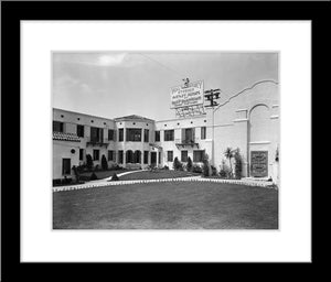 """Hyperion Studios Courtyard"" from Disney Photo Archives"