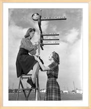 "Load image into Gallery viewer, ""Dopey Drive Sign Painters"" from Disney Photo Archives"