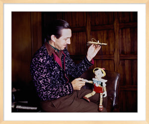 """Walt & Pinocchio Puppet"" from Disney Photo Archives"