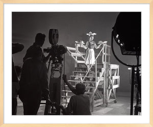"""Cinderella on Set"" from Disney Photo Archives"