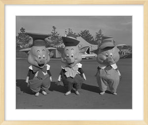 """Three Little Pigs"" from Disney Photo Archives"