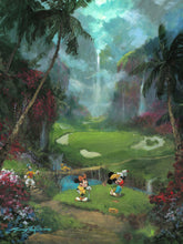 "Load image into Gallery viewer, ""17th Tee in Paradise"" by James Coleman"