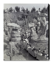 "Load image into Gallery viewer, ""Disneyland Mine Train - Balancing Rock Canyon"" from Disney Photo Archives"