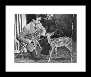 """Walt & Deer"" from Disney Photo Archives"