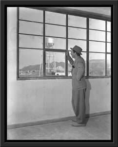 """Walt & Studio Watertower"" from Disney Photo Archives"