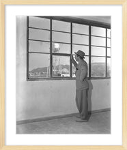 "Load image into Gallery viewer, ""Walt & Studio Watertower"" from Disney Photo Archives"