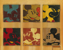 "Load image into Gallery viewer, ""6 Up Mickey"" by Trevor Carlton"