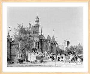 """Disneyland Sleeping Beauty Castle"" from Disney Photo Archives"