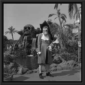 """Captain Hook"" from Disney Photo Archives"