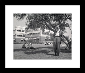 """Walt & Animation Building"" from Disney Photo Archives"