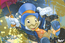 "Load image into Gallery viewer, ""Jiminy Cricket"" by ARCY"