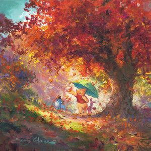"""Autumn Leaves Gently Falling"" by James Coleman"