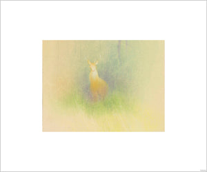 """Bambi Visual Development - 05002"" Concept Art by Tyrus Wong"