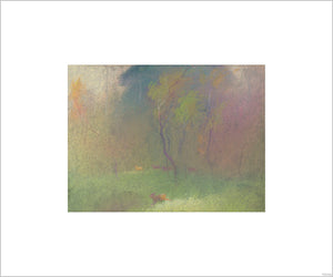 """Bambi Visual Development - 32"" Concept Art by Tyrus Wong"