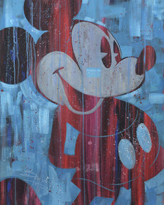 """Cool Blue Mickey"" by Stephen Fishwick"