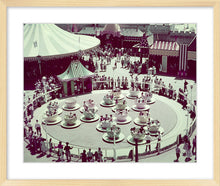 "Load image into Gallery viewer, ""Disneyland Mad Tea Party Color"" from Disney Photo Archives"