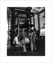 "Load image into Gallery viewer, ""Walt & the Multiplane Camera"" from Disney Photo Archives"