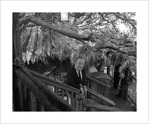 """Walt at Swiss Family Tree House"" from Disney Photo Archives"